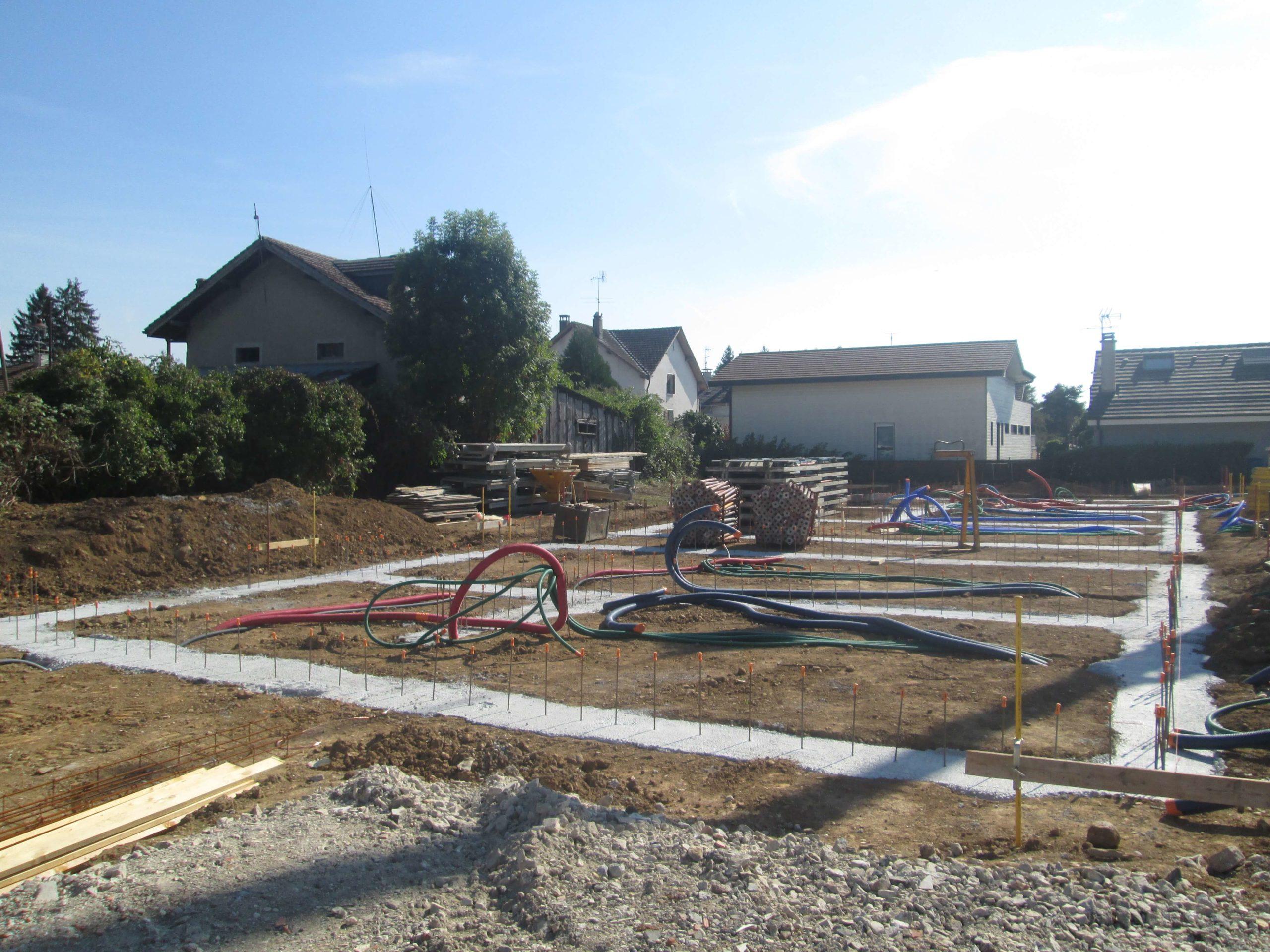 Terrassements, Fondations & Réseaux