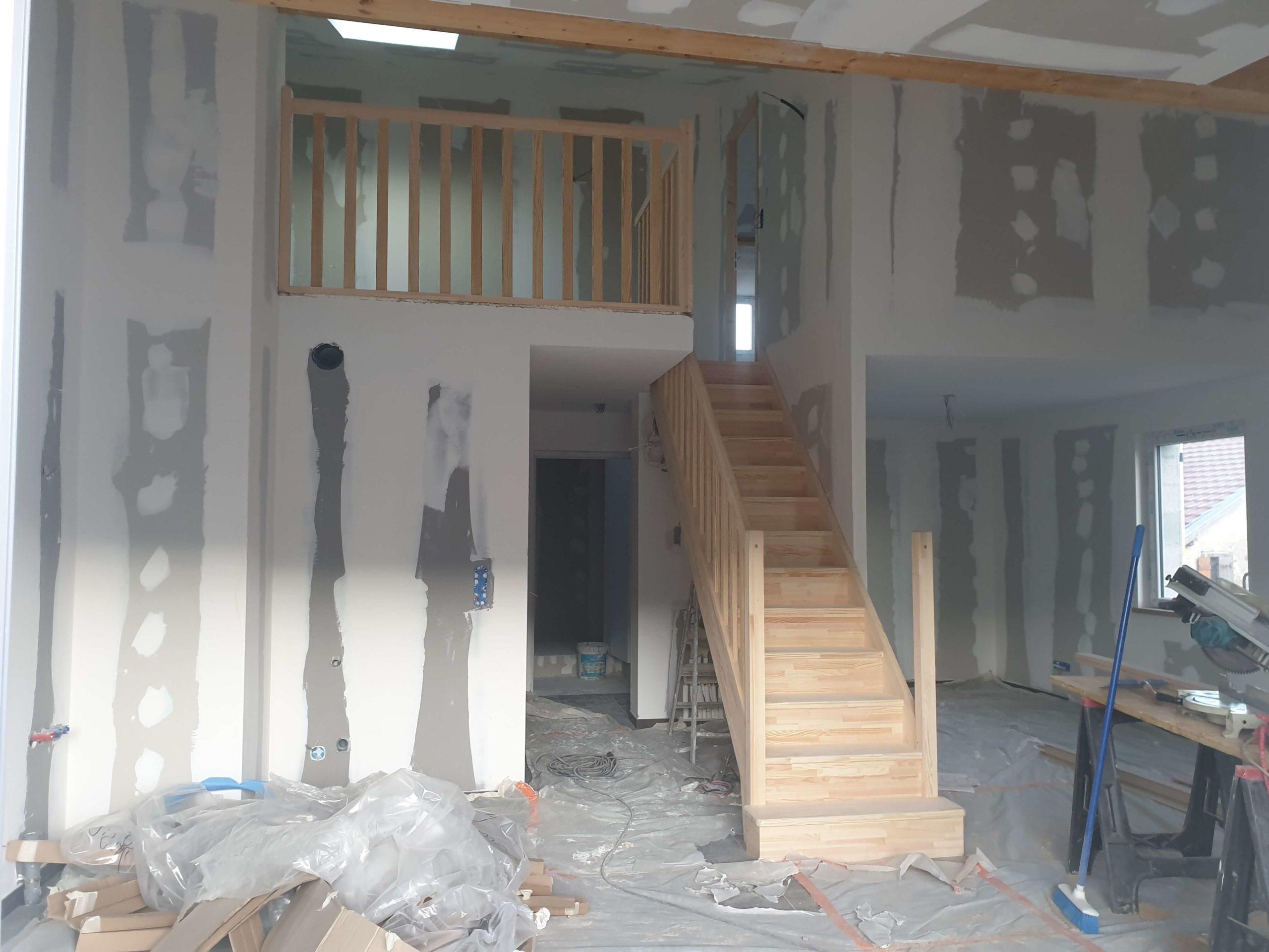 Escaliers et gardes-corps