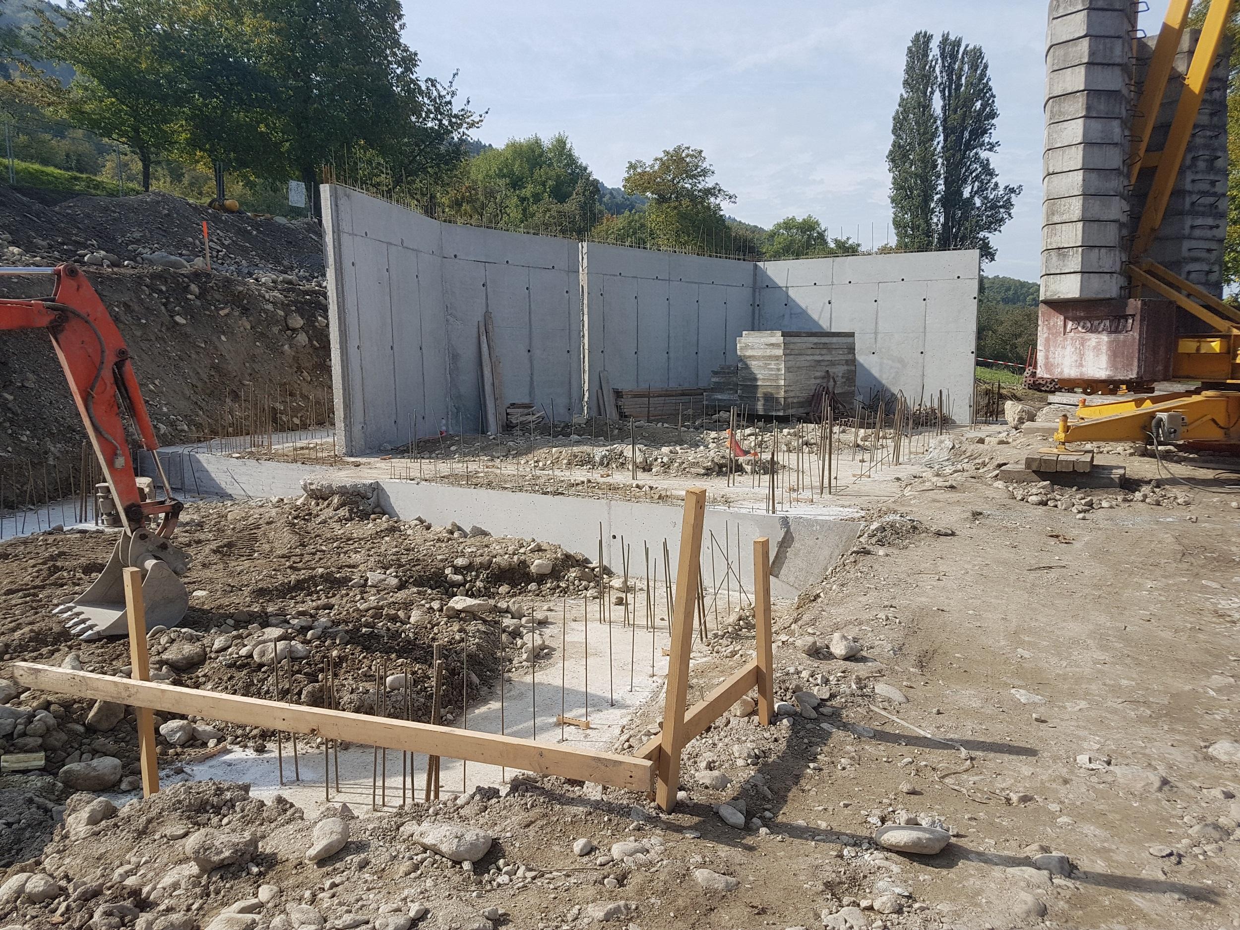 Fondations & Elévations B.A. du sous-sol