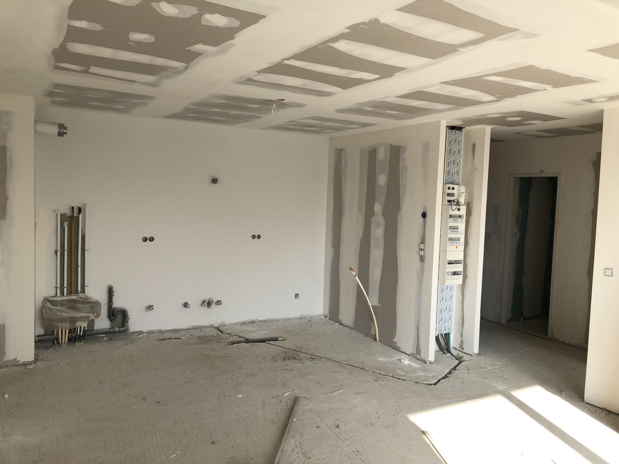 Cloisonnement intérieur du bâtiment