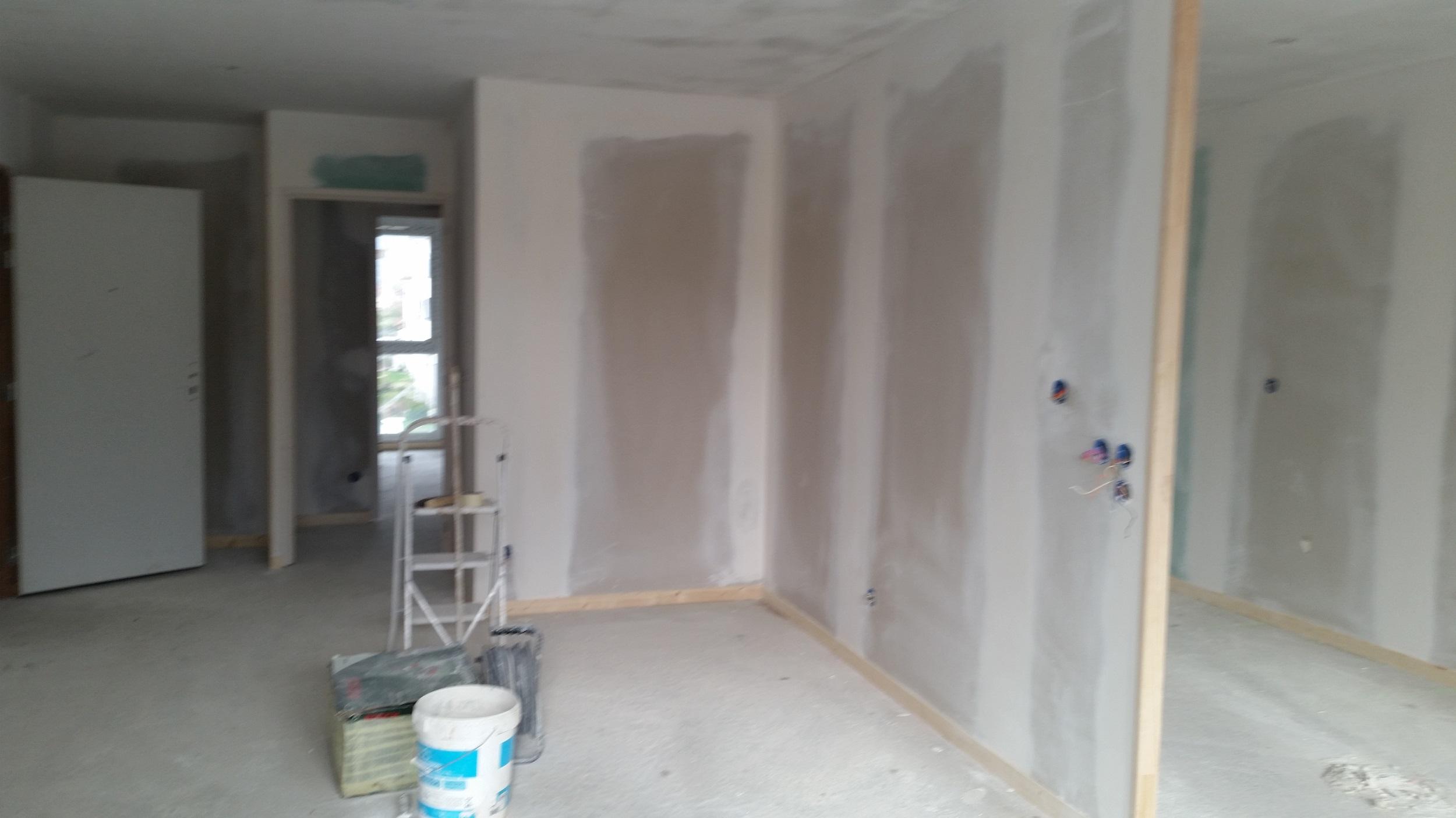 Plâtrerie & Préparations de peintures
