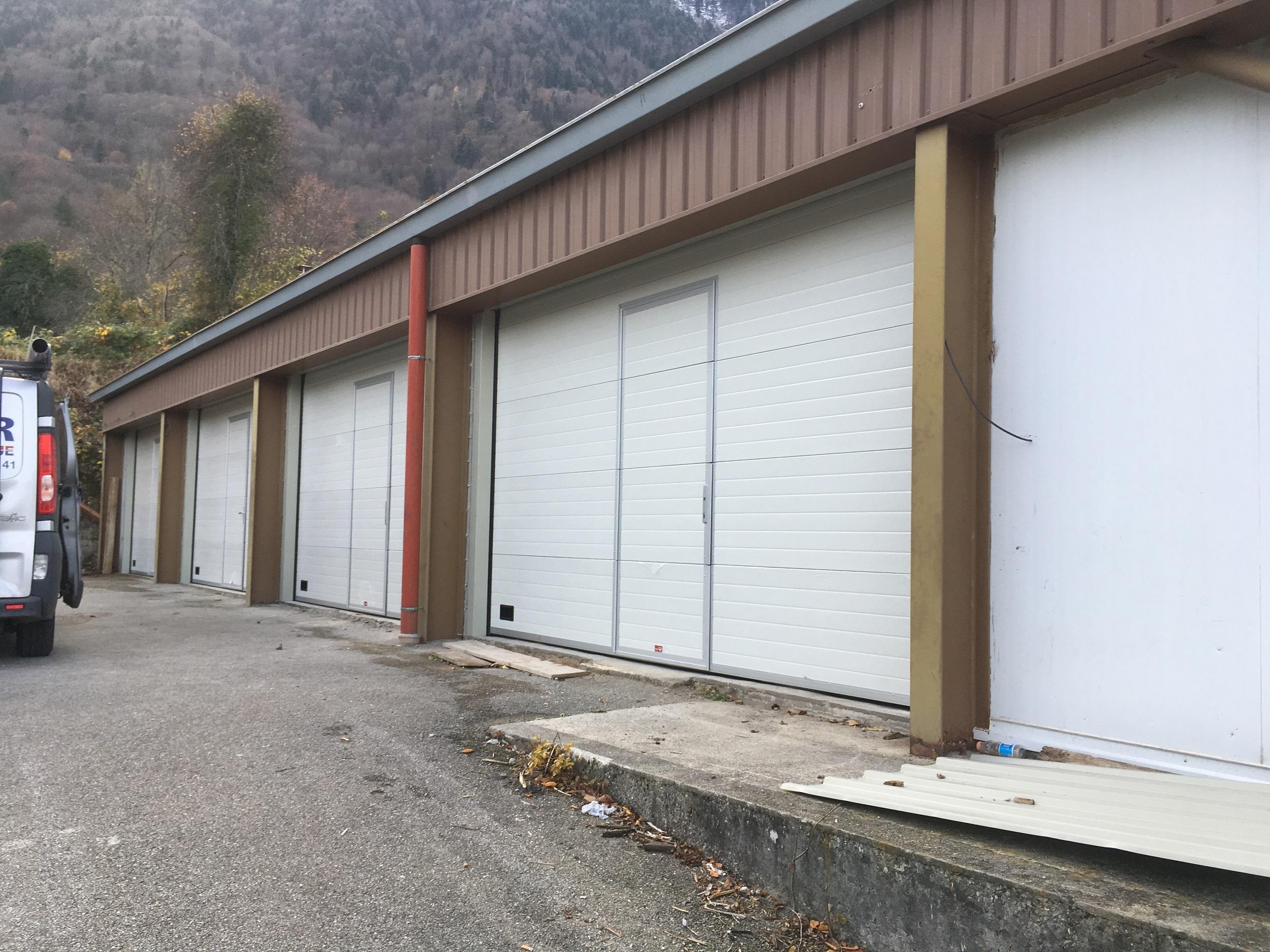 Portes Sectionnelles des Ateliers