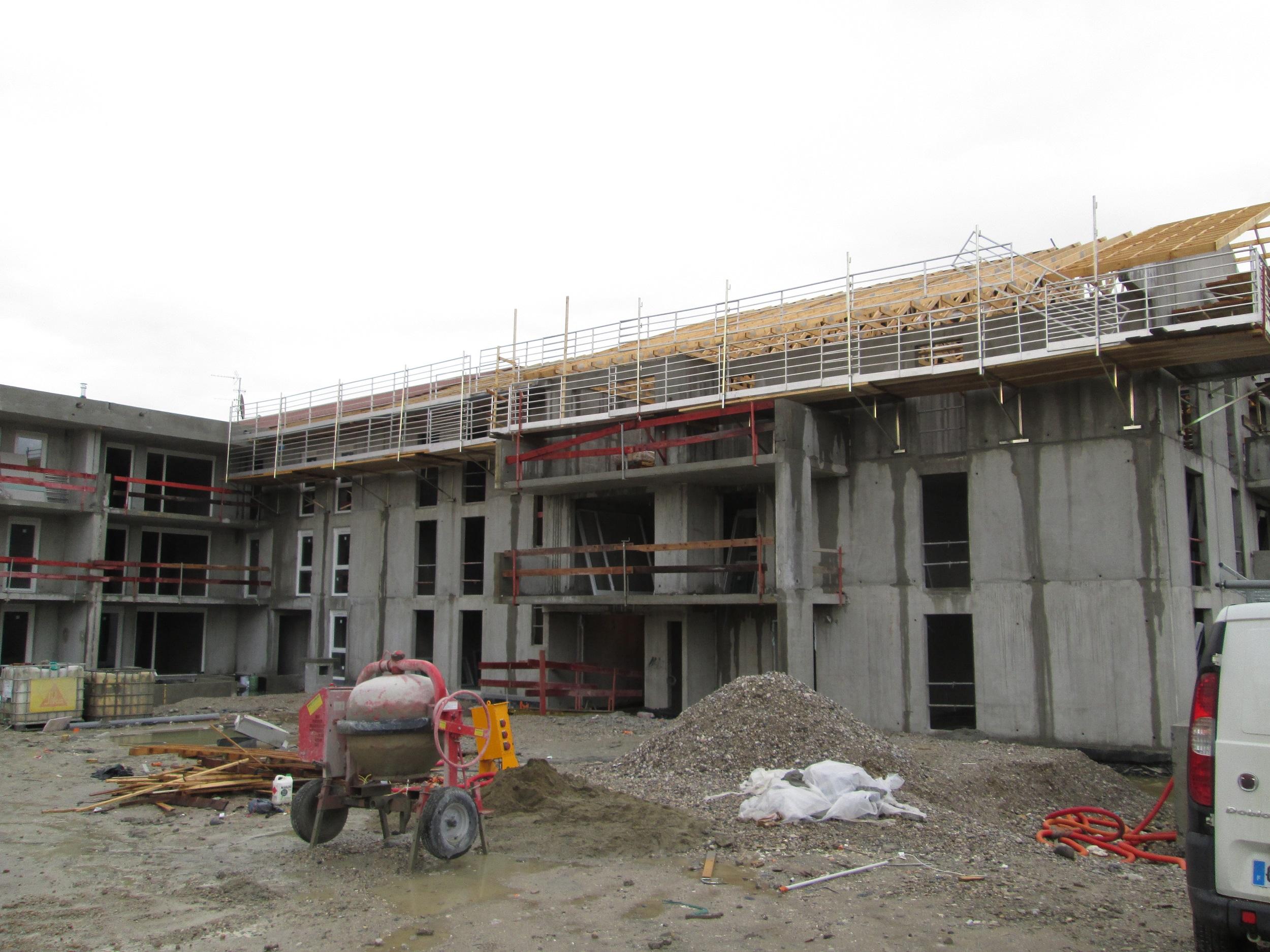 Charpente & Couverture sur les bâtiments B & C